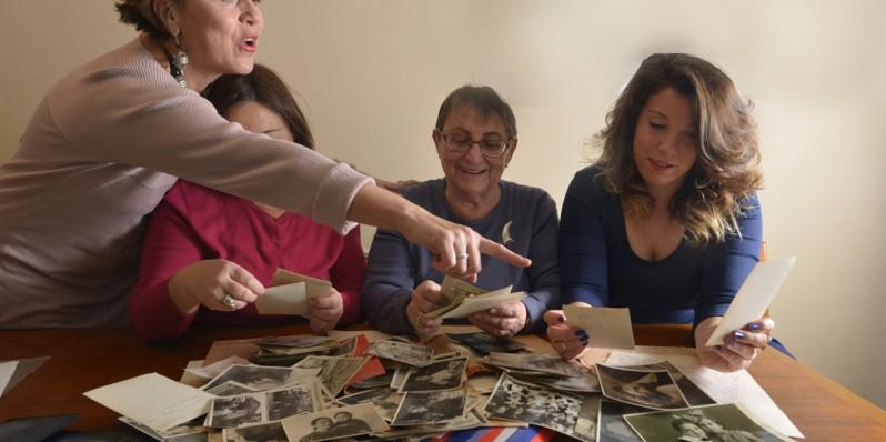 מתנה מושלמת לסבא וסבתא - תהליך העבודה על ספר סיפור חיים