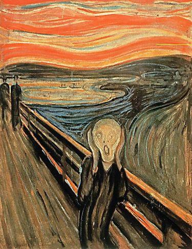 """אדוורד מונק """"הצעקה"""" כתיבת בוסר דומה לצעקה - איך כותבים סיפור?"""